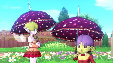 魔女の日傘