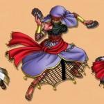 占い師の武器は片手剣、棍、ムチ、弓